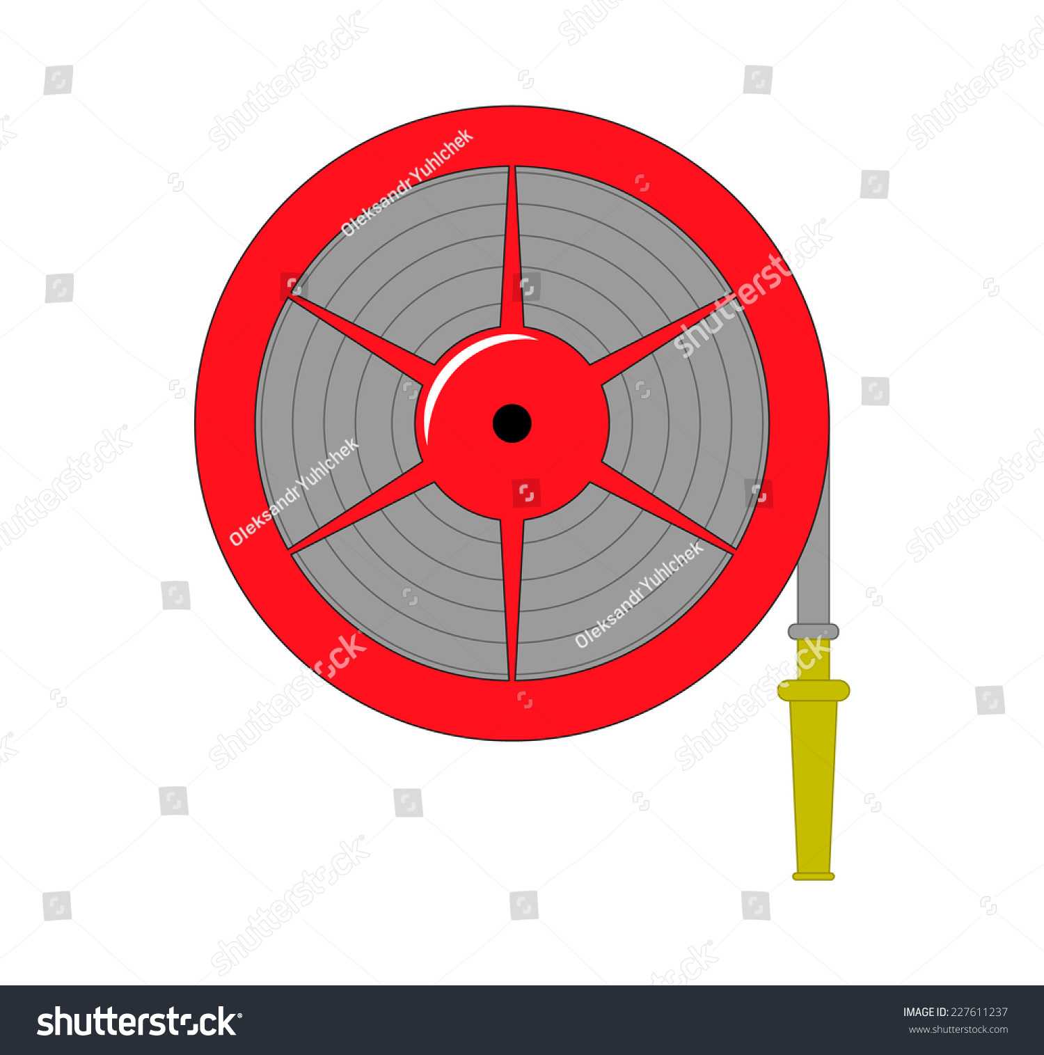 clipart fire hose reel - photo #4