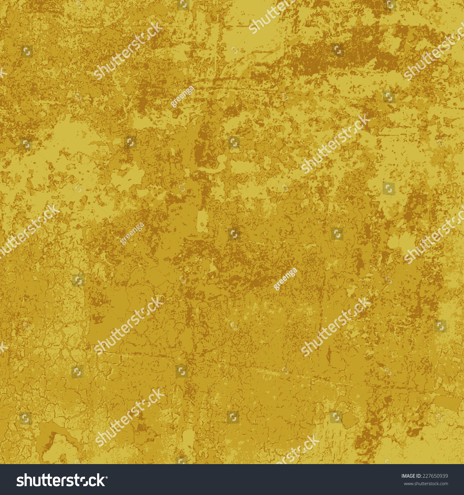Old Gold Paint Texture Abstract Vector Stock Vector 227650939 ...