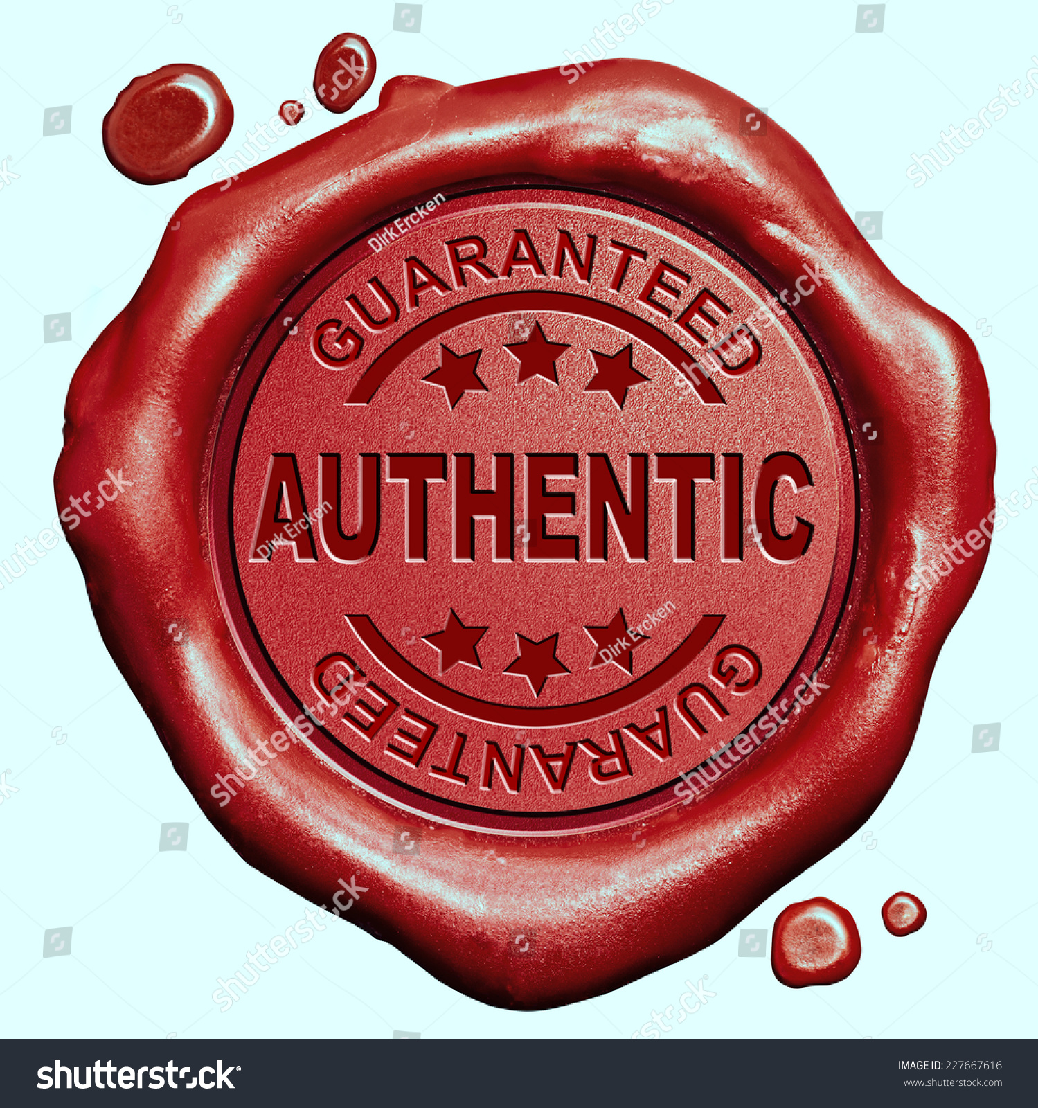 Authentic Product Quality Label Authenticity Guaranteed Stock ...