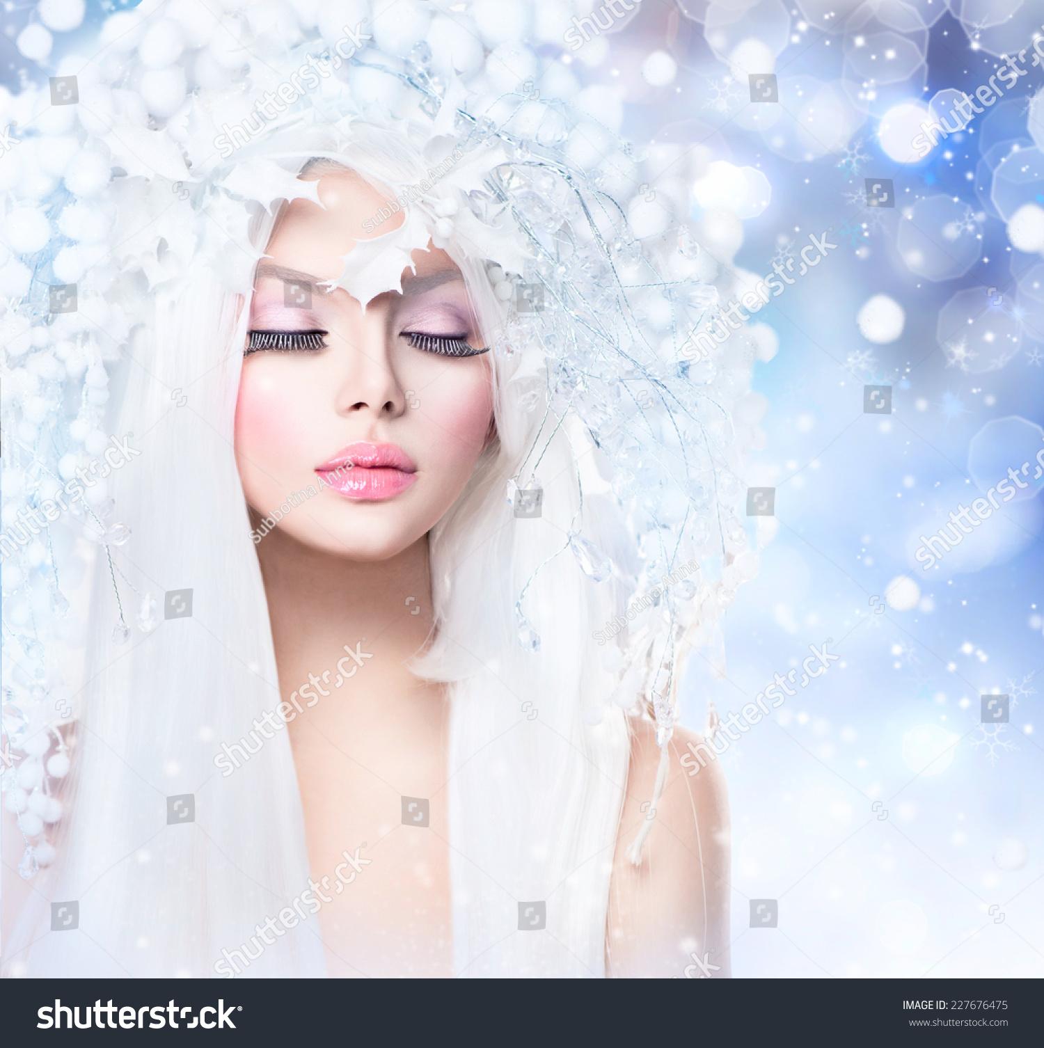 Свадебные прически для зимы