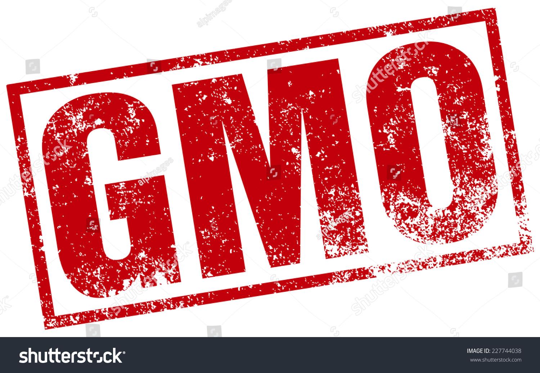 Gmo Stamp Stock Vector 227744038