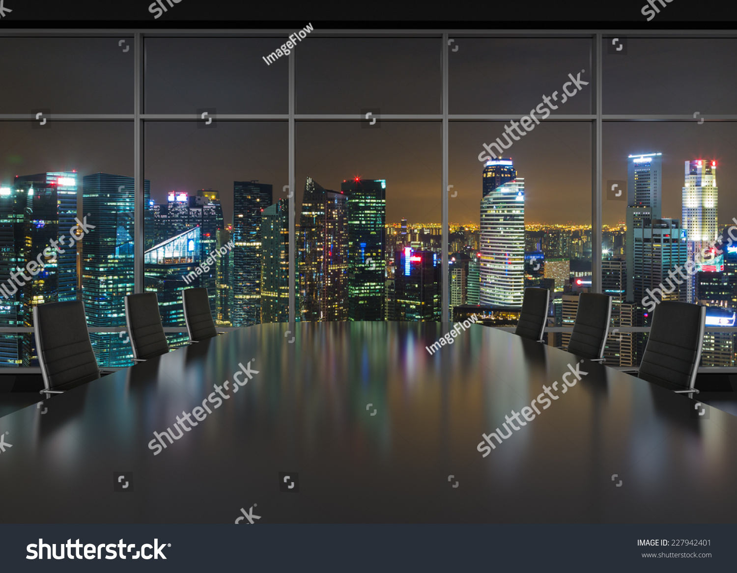 Office Window View Night : City view at night from window wallpapers gallery
