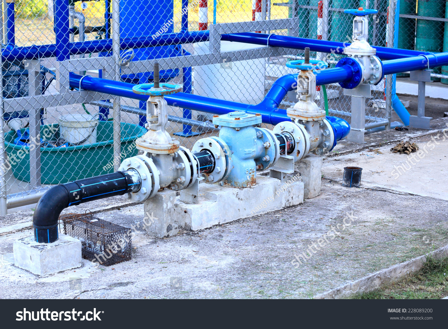 Industrial Air Pipes : Industrial air condition pipes plumbing cooler fire stock