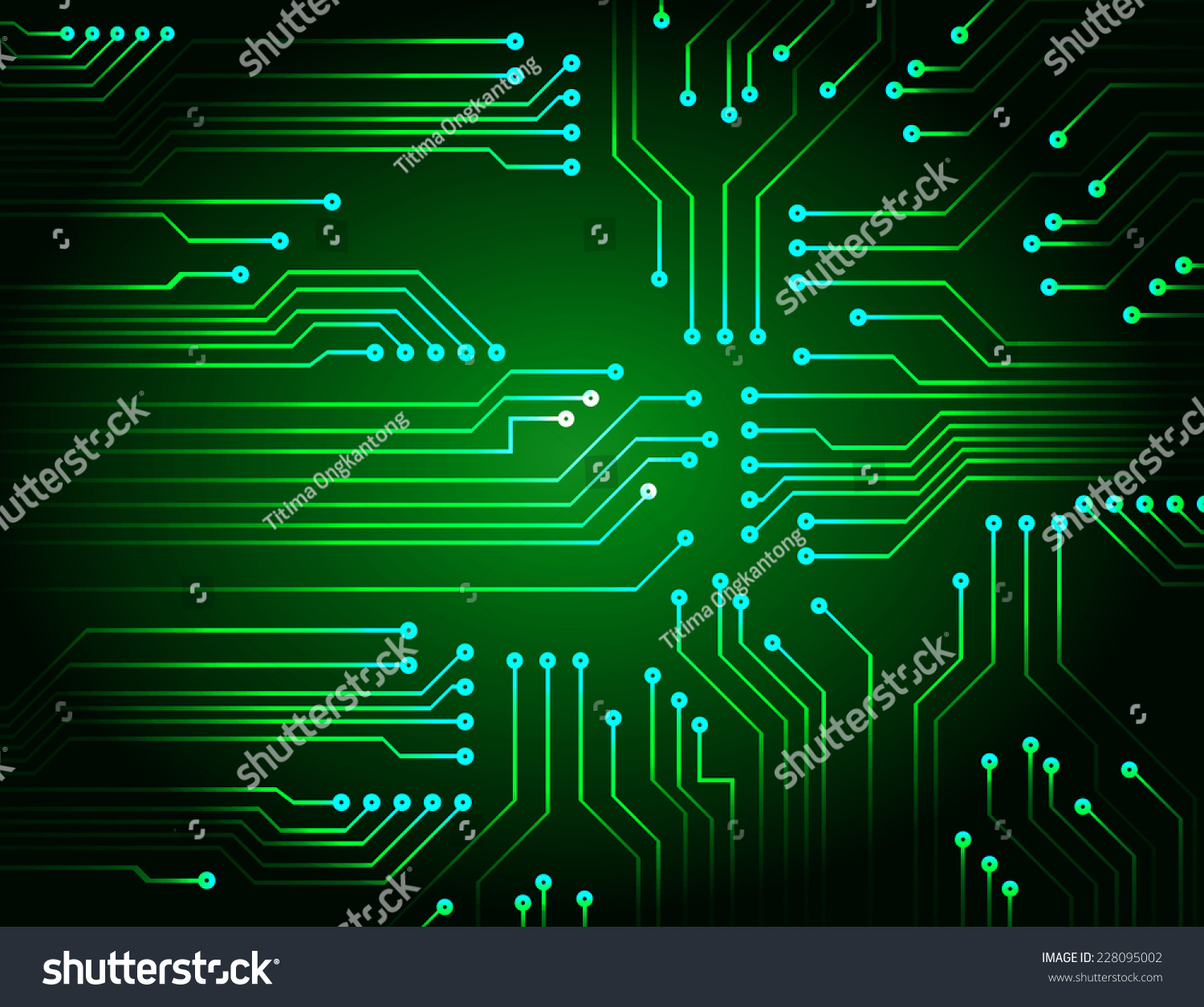 Future Technology Green Cyber Security Concept Background Abstract Circuit Board Design Over Vector Illustration Hi Speed Digital Internetmotion Move Blur Pixel Ez Canvas