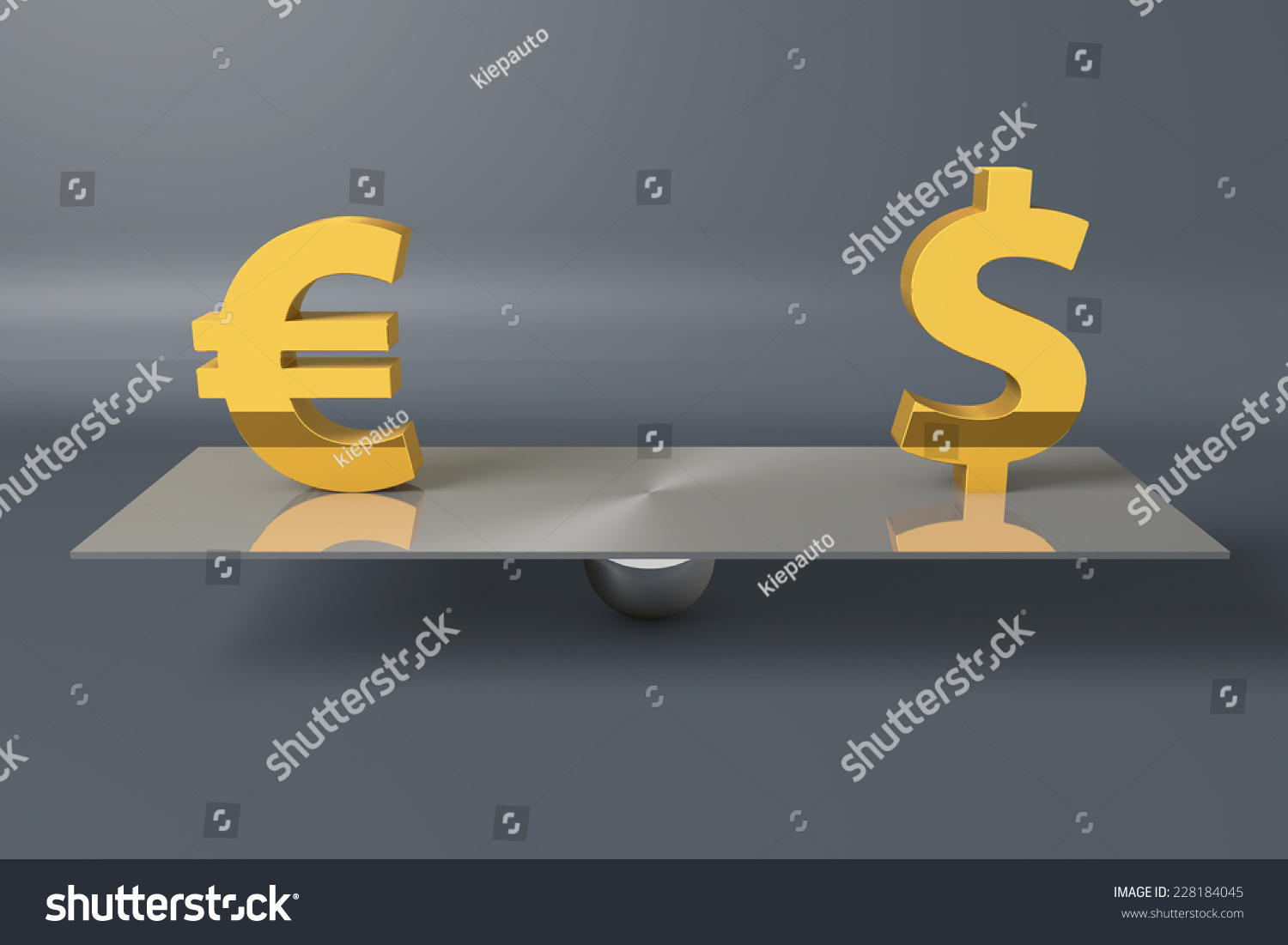 Currency symbols on balance scale stock illustration 228184045 currency symbols on a balance scale biocorpaavc Choice Image