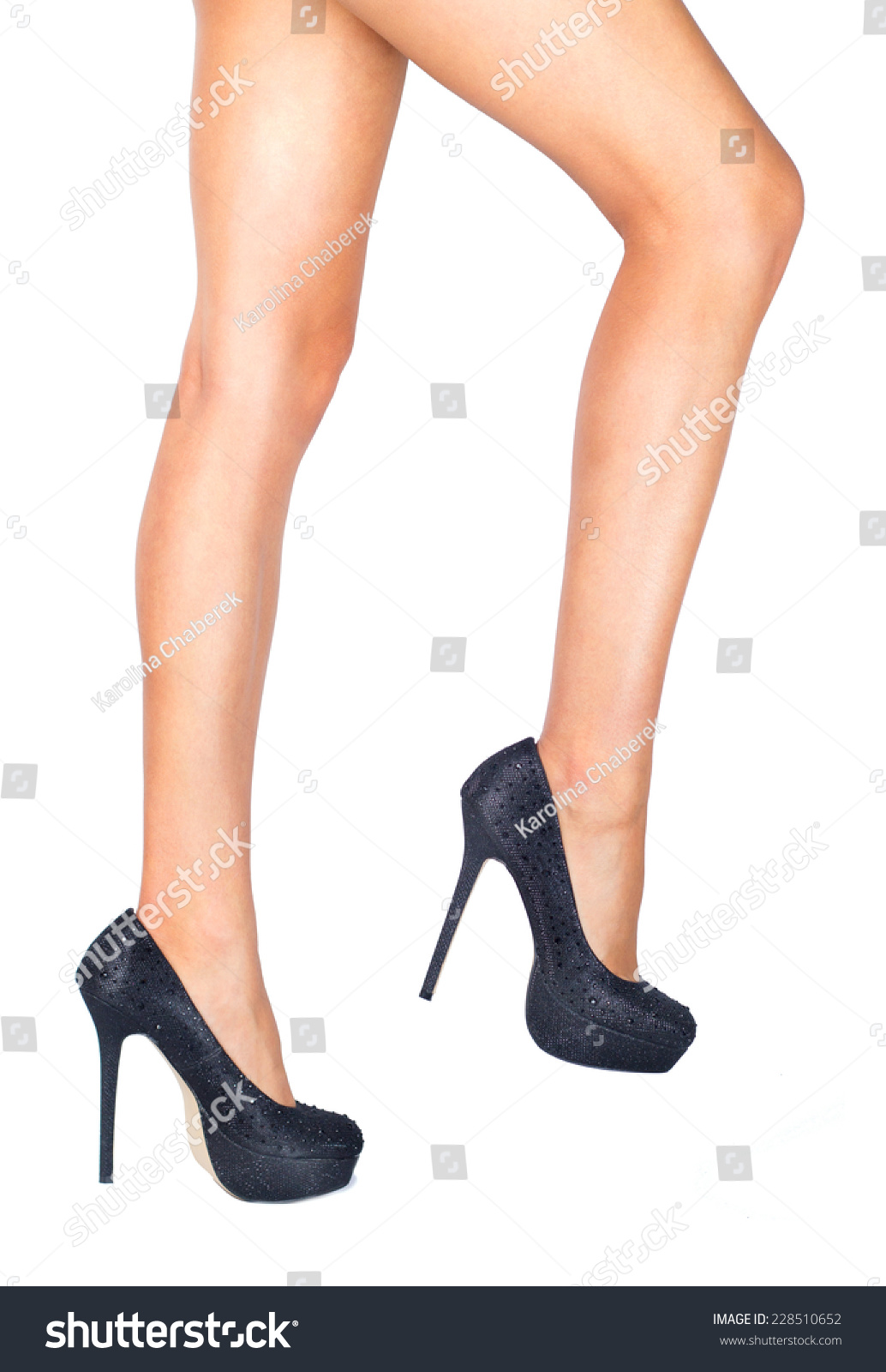 dcb18bfec6c23b Tanned legs isolated high heels stock photo edit now jpg 1034x1600 Tanned  heels