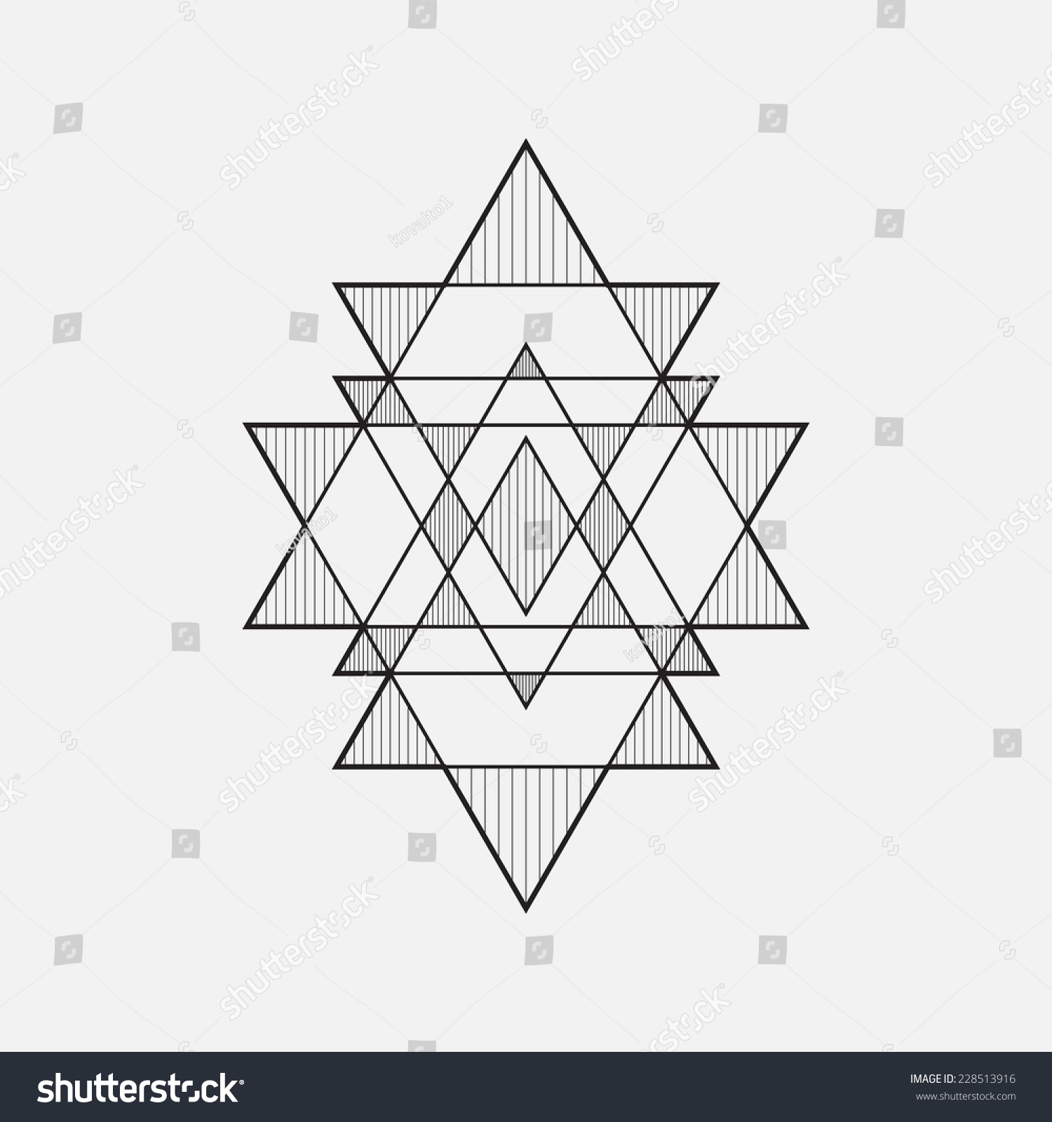 Geometric Shapes, Line Design, Triangle Stock Vector Illustration ...: www.shutterstock.com/pic-228513916/stock-vector-geometric-shapes...