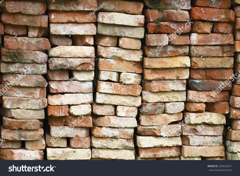 Pile Bricks Stock Photo 228542227 - Shutterstock