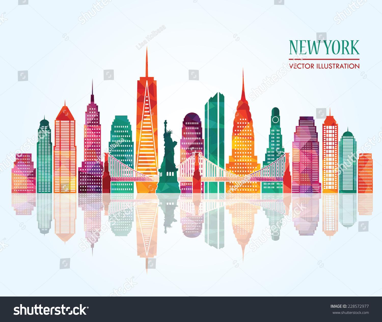 new york city vector illustration stock vector 228572977 new york city victory arch new york city victory parade of 1946 youtube