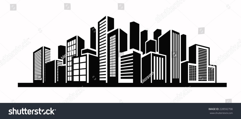 Cool building vector images pics