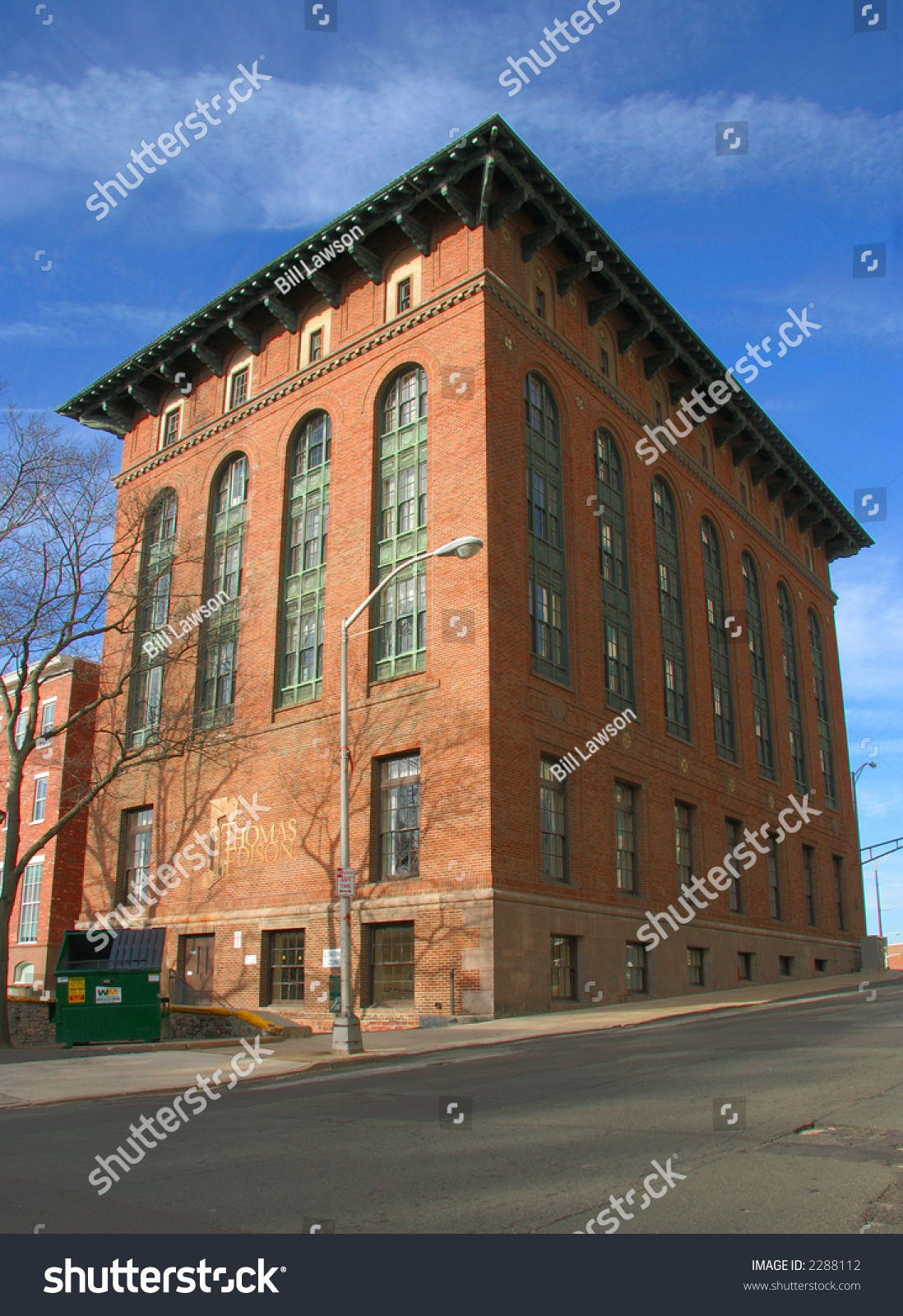 Old Factory Building Stock Photo 2288112 : Shutterstock