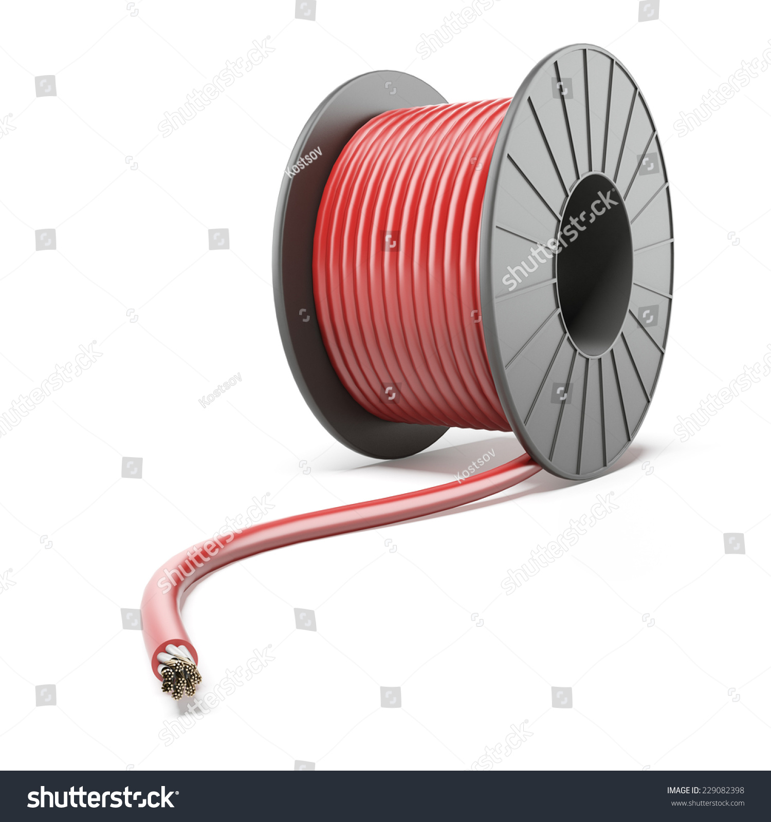 Bury High Voltage Power Cables : High voltage power cable stock photo shutterstock