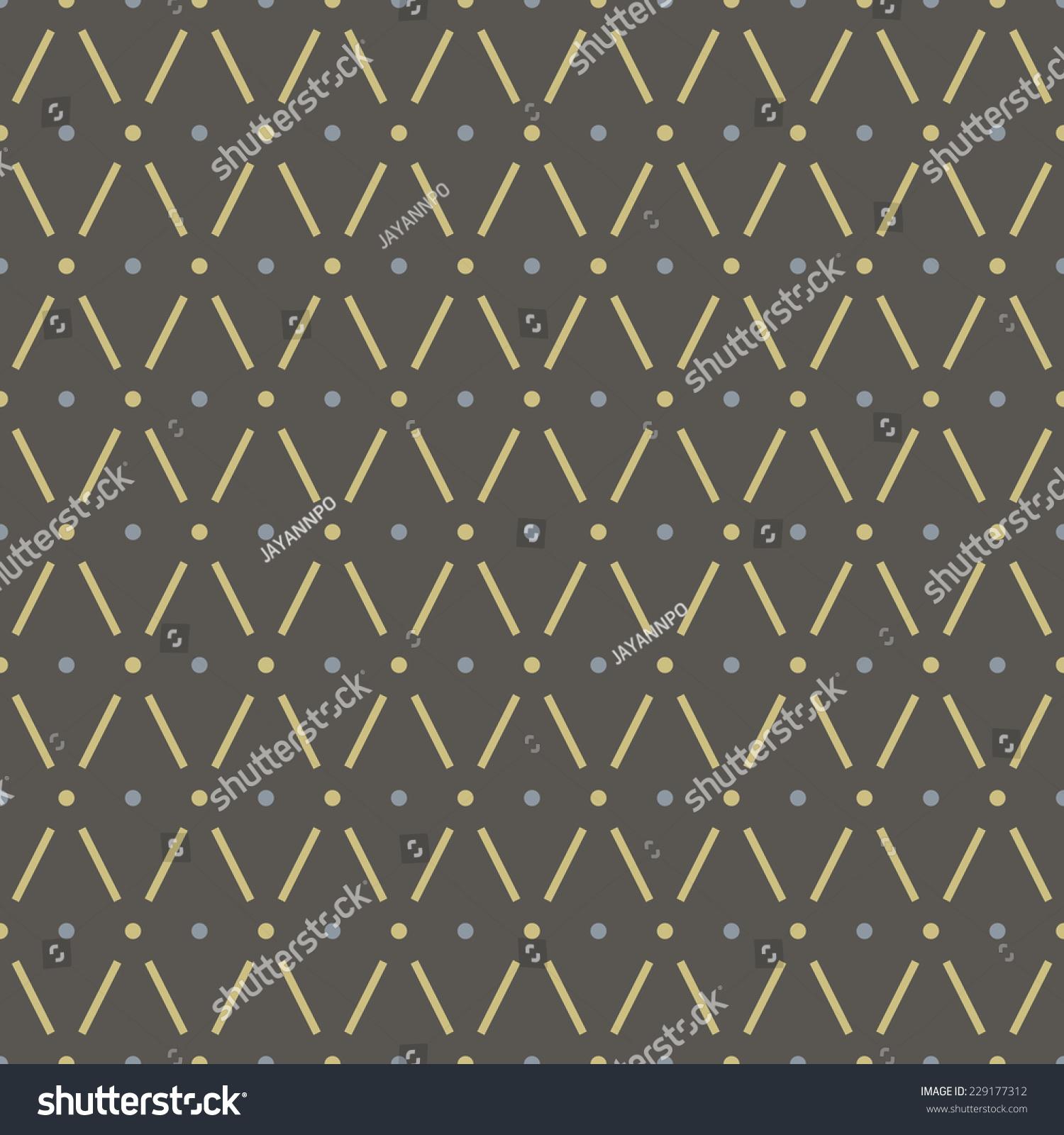 Abstract Seamless Geometric Pattern Rhombus Peas Stock