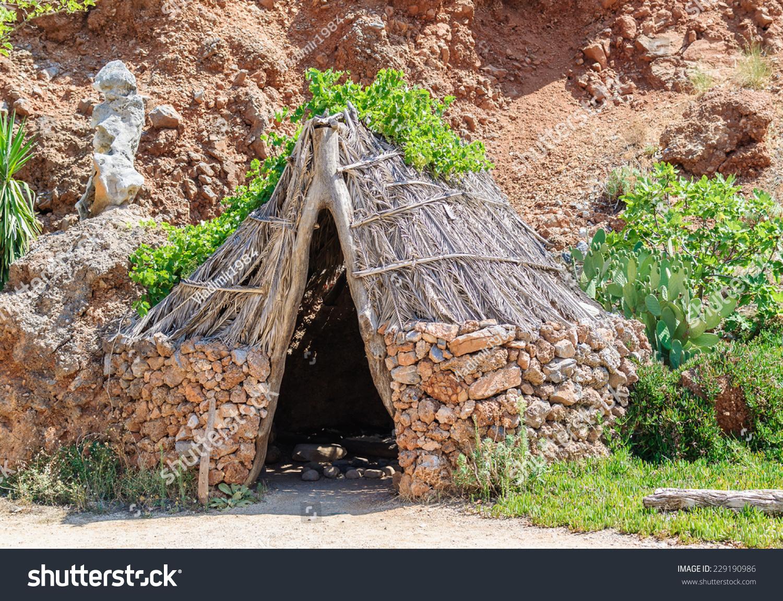 stoneage homo sapiens old house stock photo 229190986 shutterstock