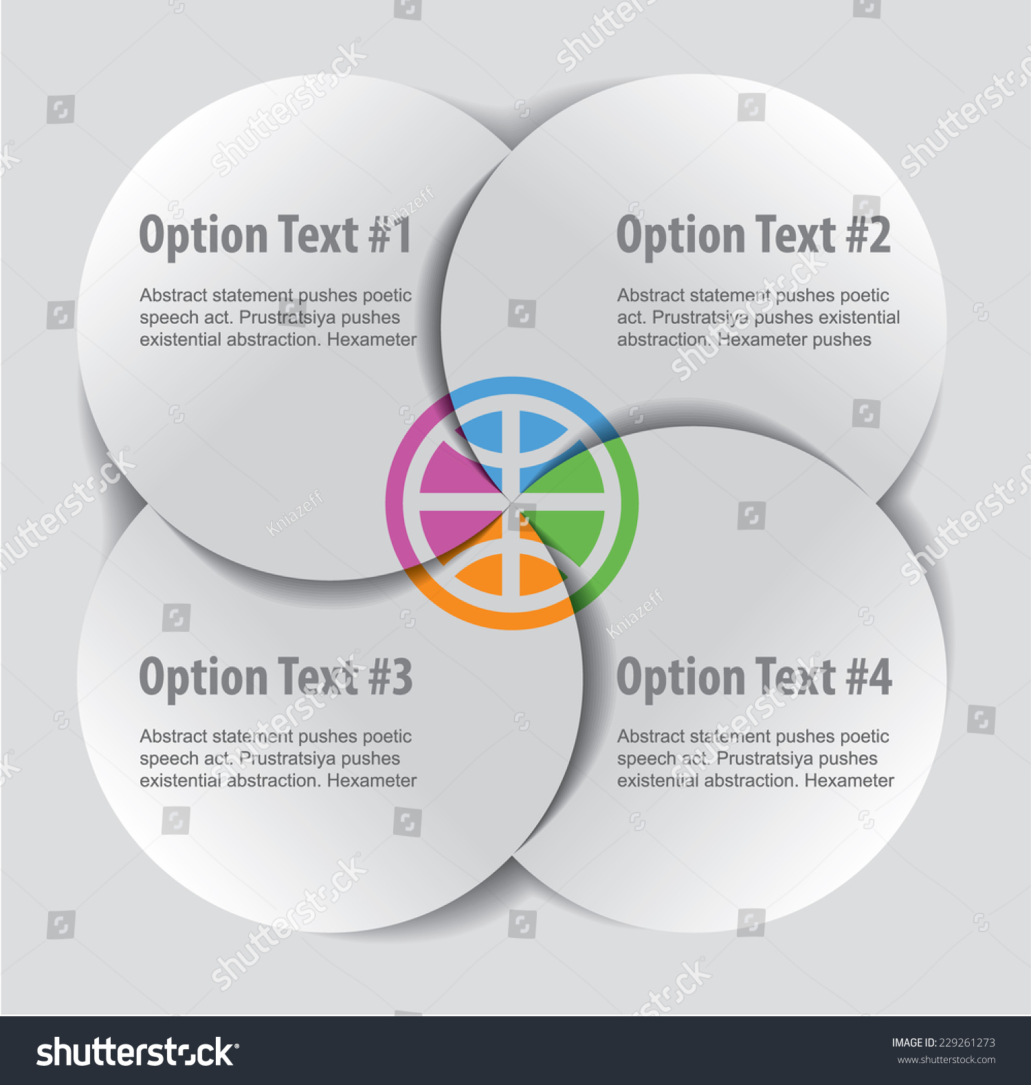 Set infographics elements form paper flat stock vector 229261273 set of infographics elements in the form of paper flat shapes for a variety of nvjuhfo Choice Image