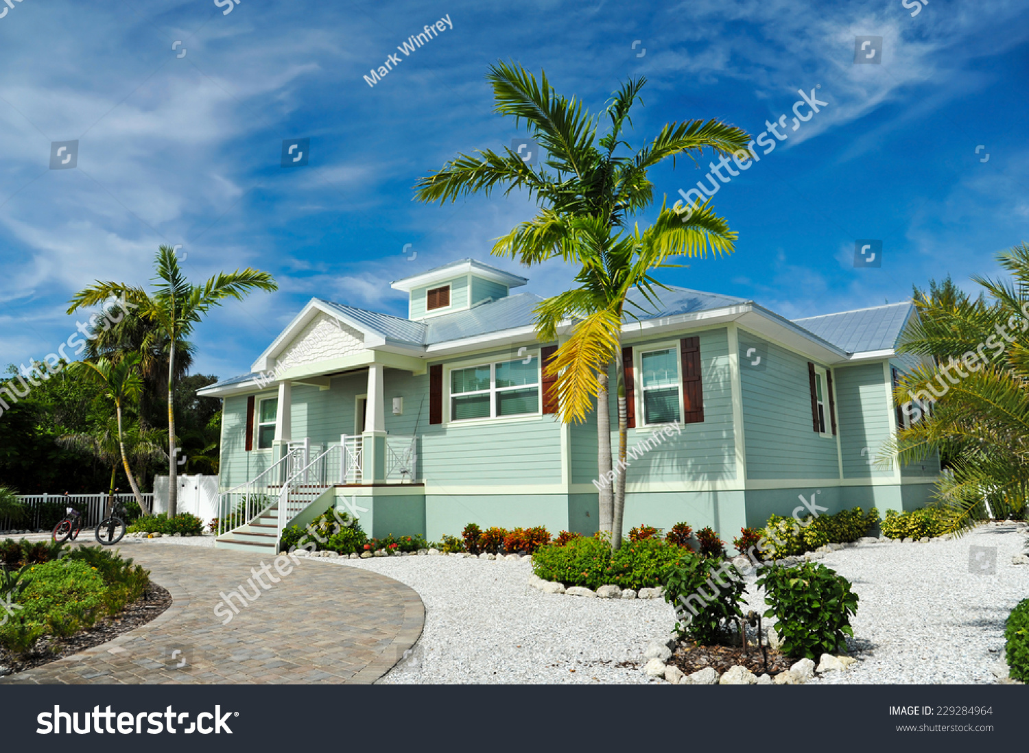 stock-photo-new-beach-house-with-beautif