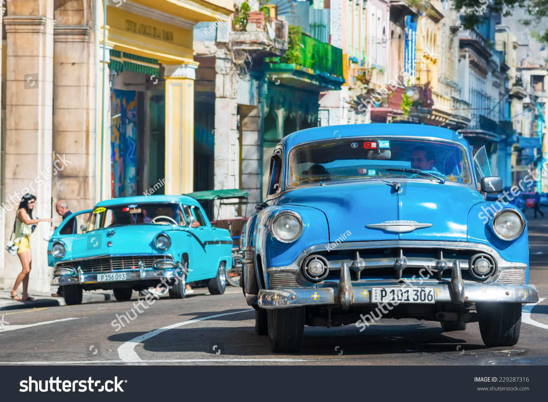 Havanacuba November 6 2014 Old Classic Stock Photo 229287316 ...