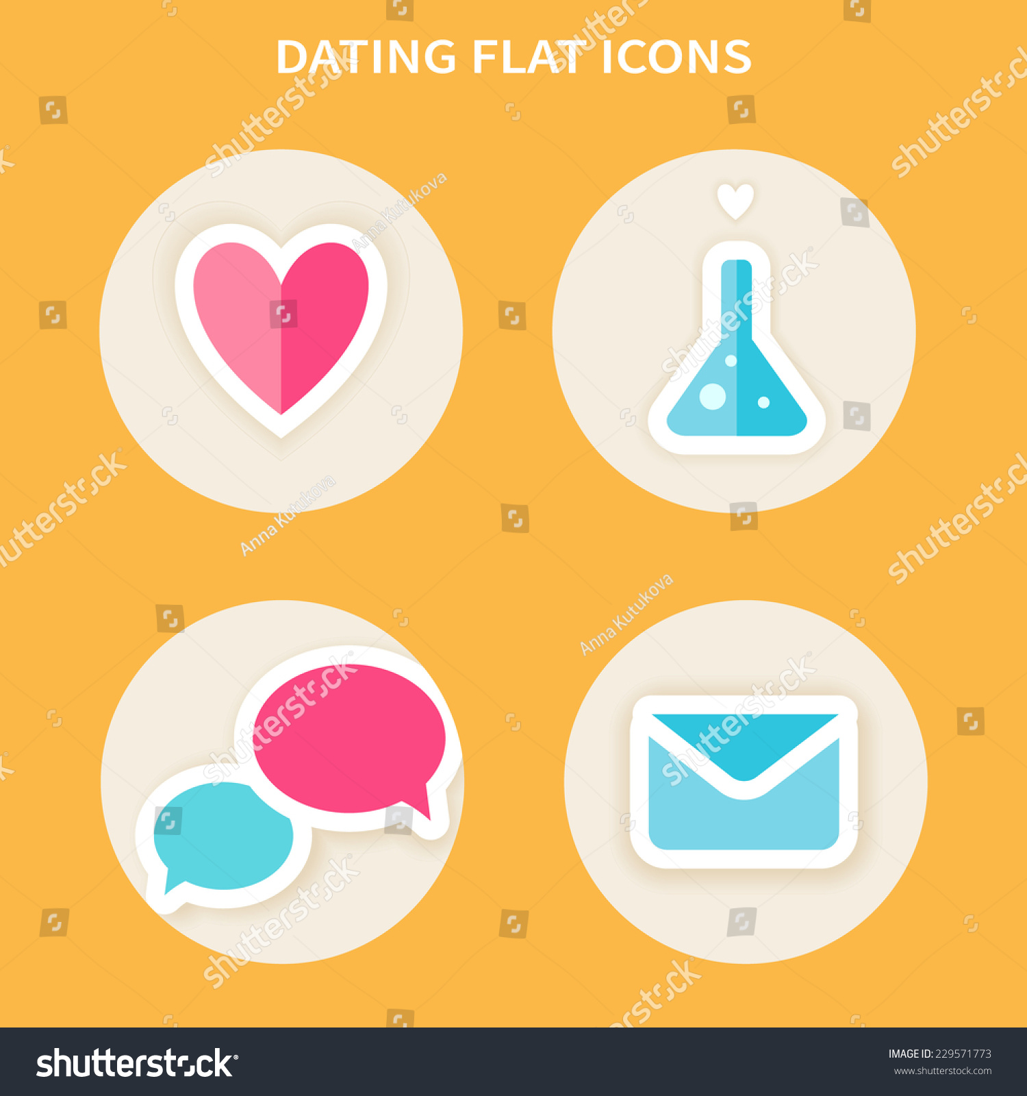 Yellow icon dating app
