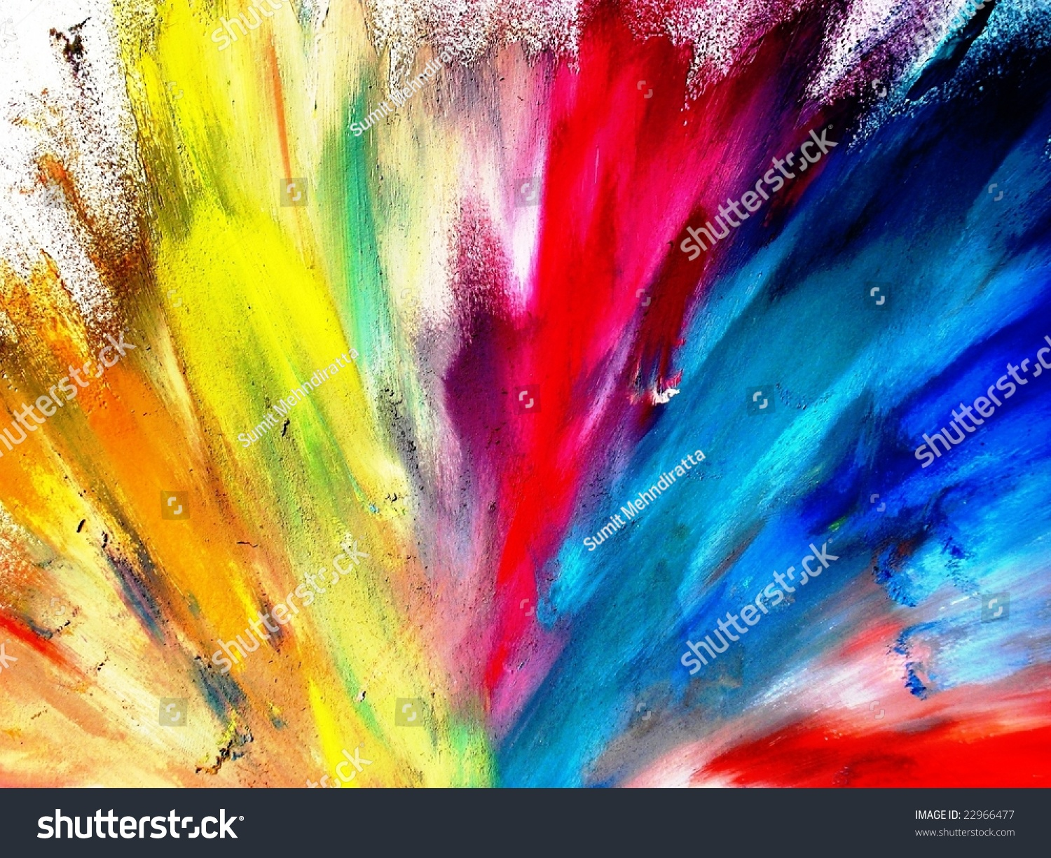 color explosion form painting stock photo edit now 22966477