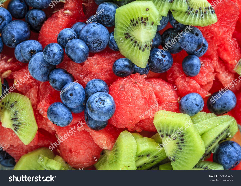 how to make mixed fruit salad