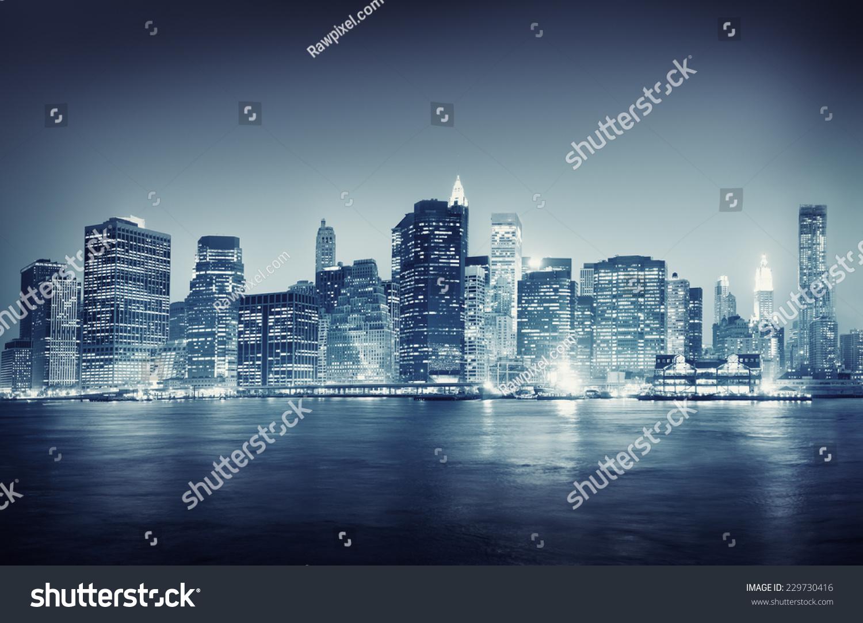stock photo city scape new york buildings travel concept 229730416 - asdasd