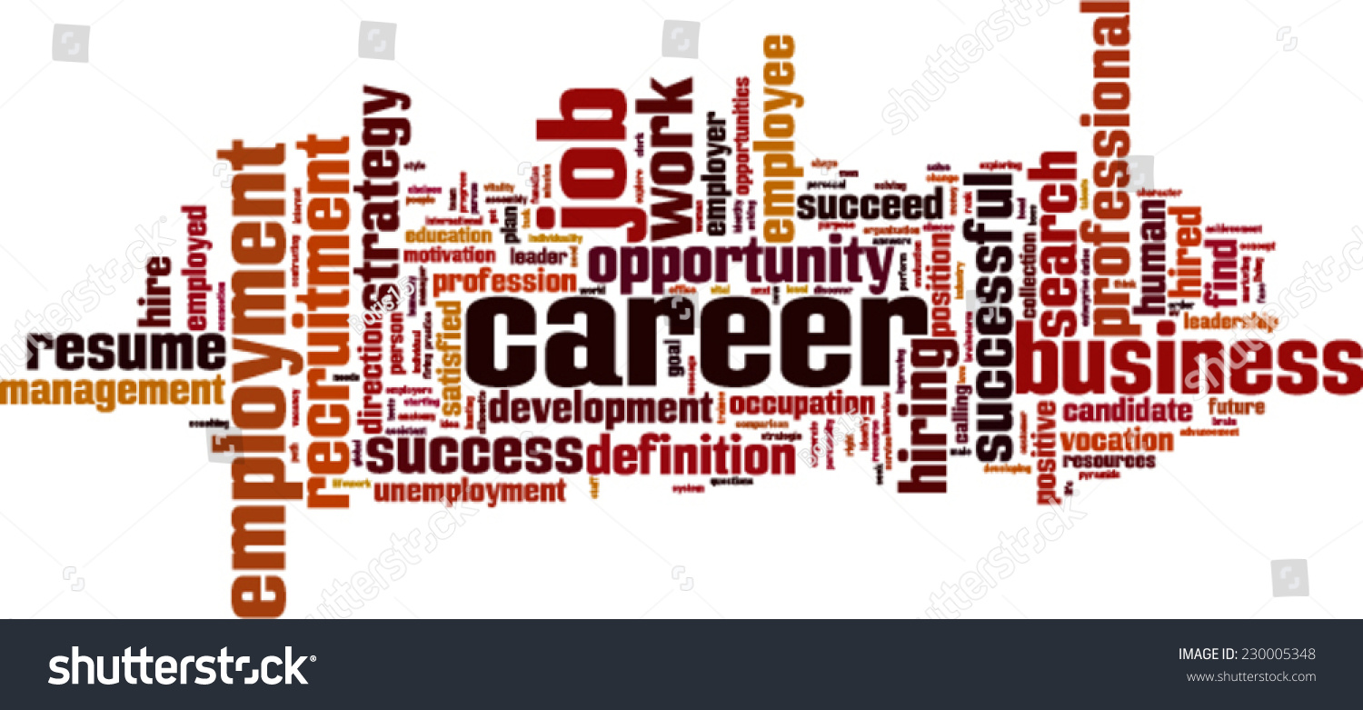 career word cloud concept vector illustration stock vector career word cloud concept vector illustration