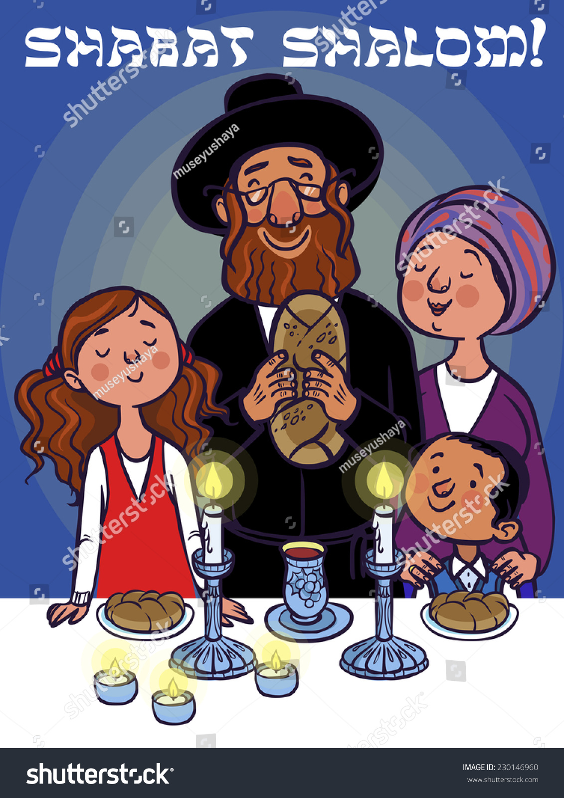 Image result for family celebrating shabbat