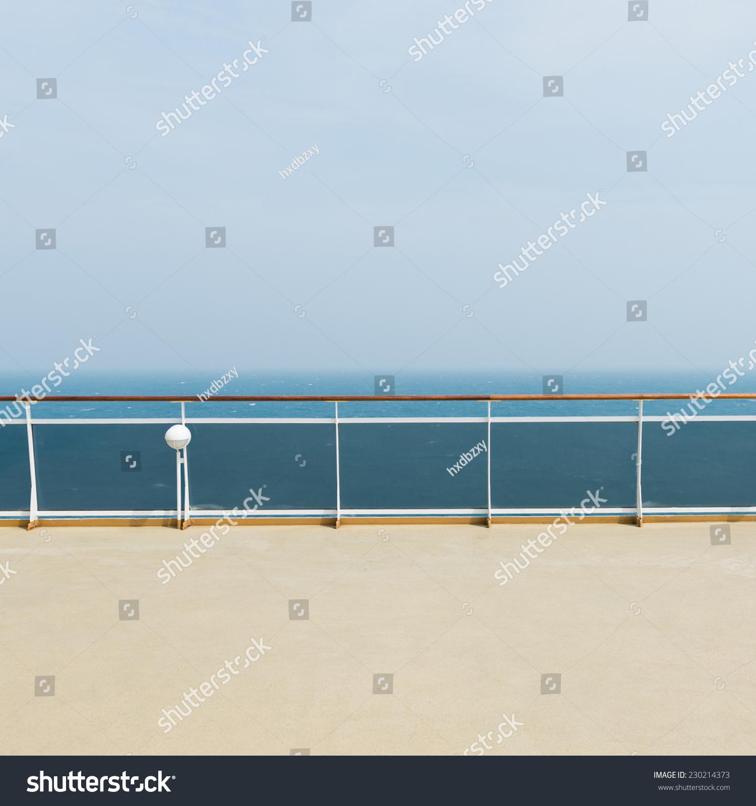 deck luxury cruise ship stock photo 230214373 shutterstock