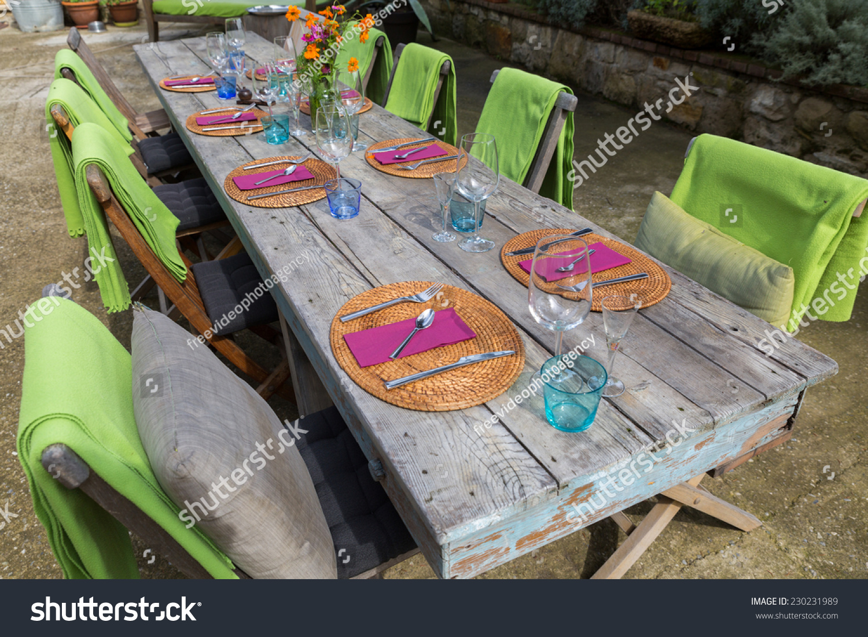 country table setting & Country Table Setting Stock Photo 230231989 - Shutterstock