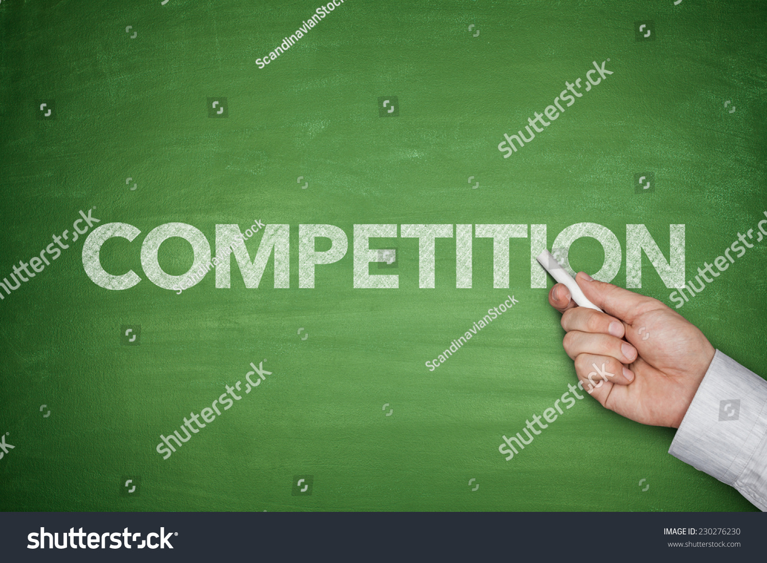 competitive word