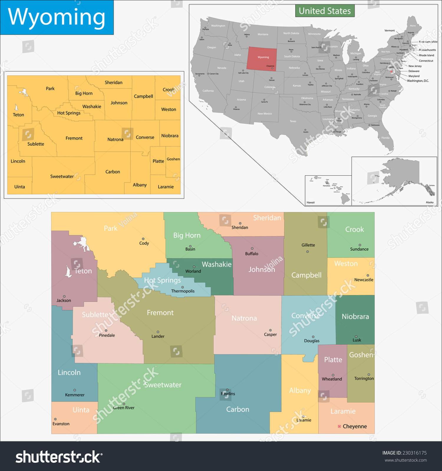 Wyoming Counties Map Monterrey Mexico Map - Wy state map