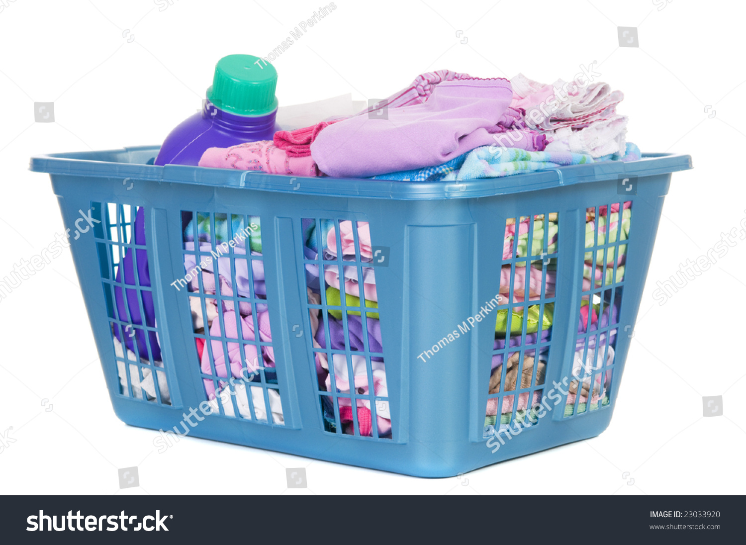 a basket of folded laundry childrens clothes never end