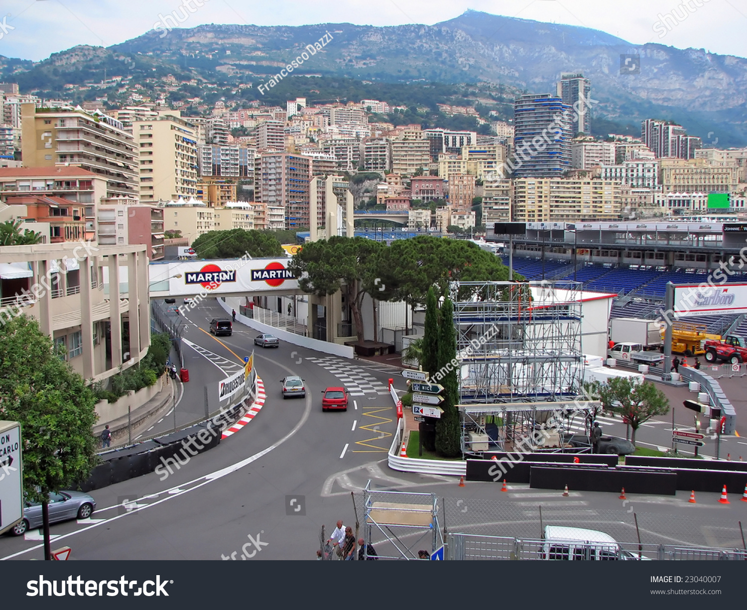 monaco may 20 monaco streets ready stock photo 23040007 shutterstock. Black Bedroom Furniture Sets. Home Design Ideas