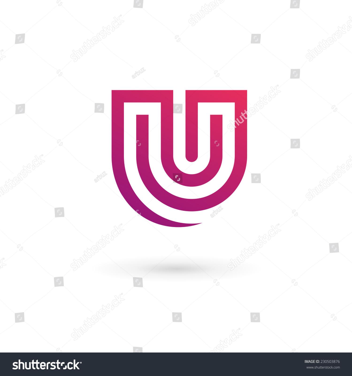 Letter U Logo Ic...U Letter Design
