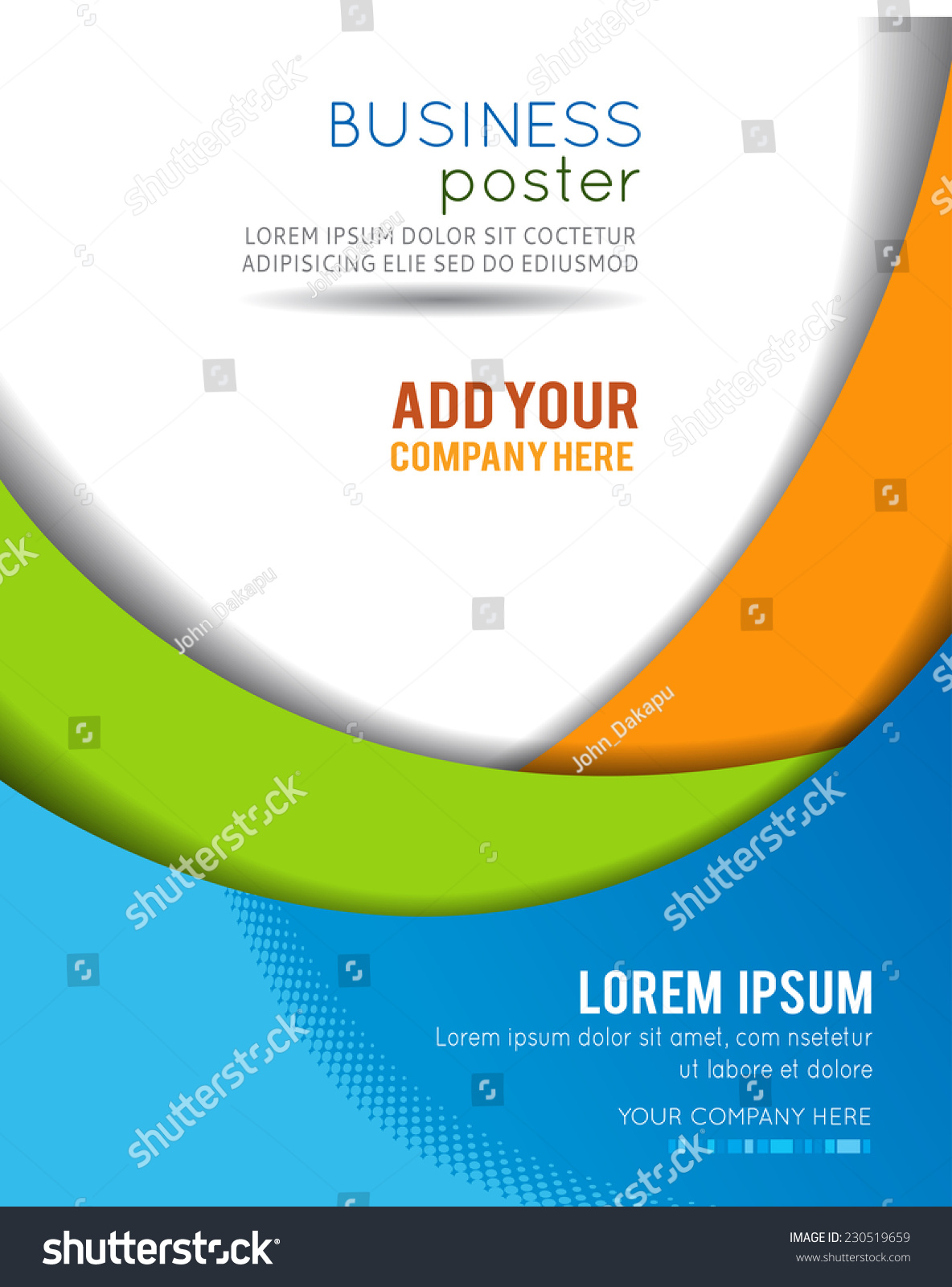 Professional business design layout template corporate for Souvenir program template
