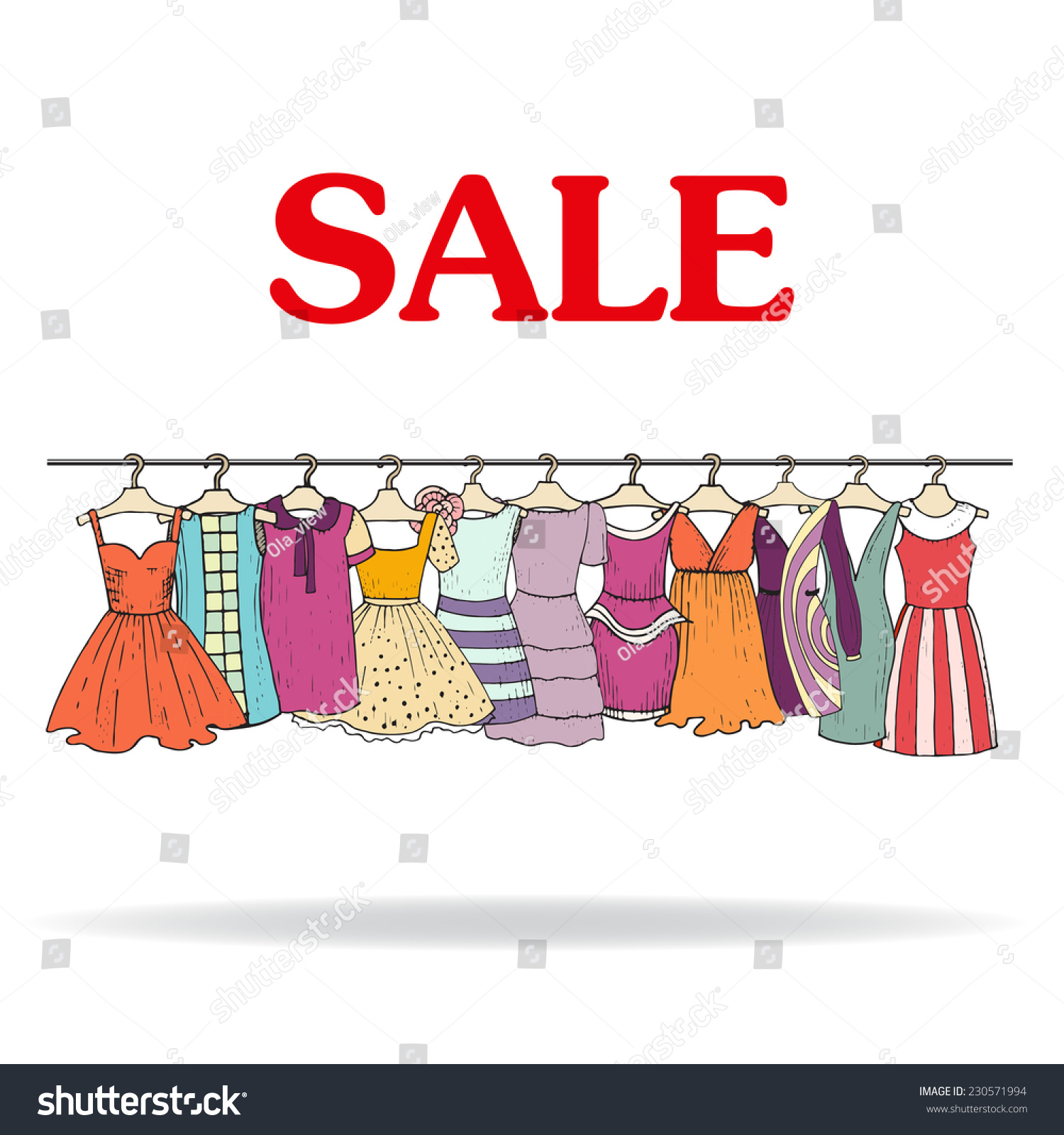 SALE CLOTHING Limited quantities. Wear-now clothing, now on sale — including women's dresses, tops, skirts and swimwear.