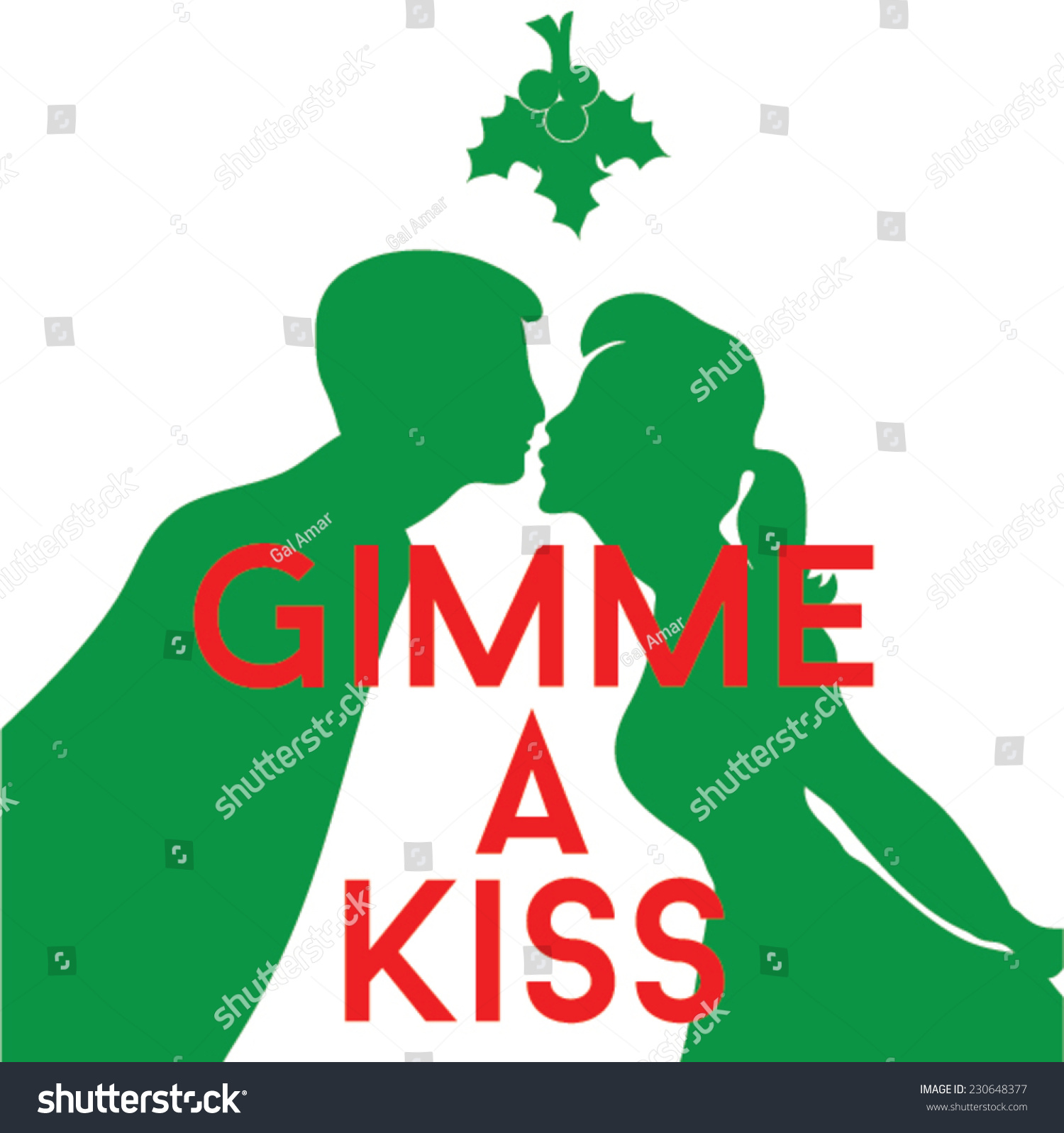 Image result for picture of woman and man kissing under christmas tree