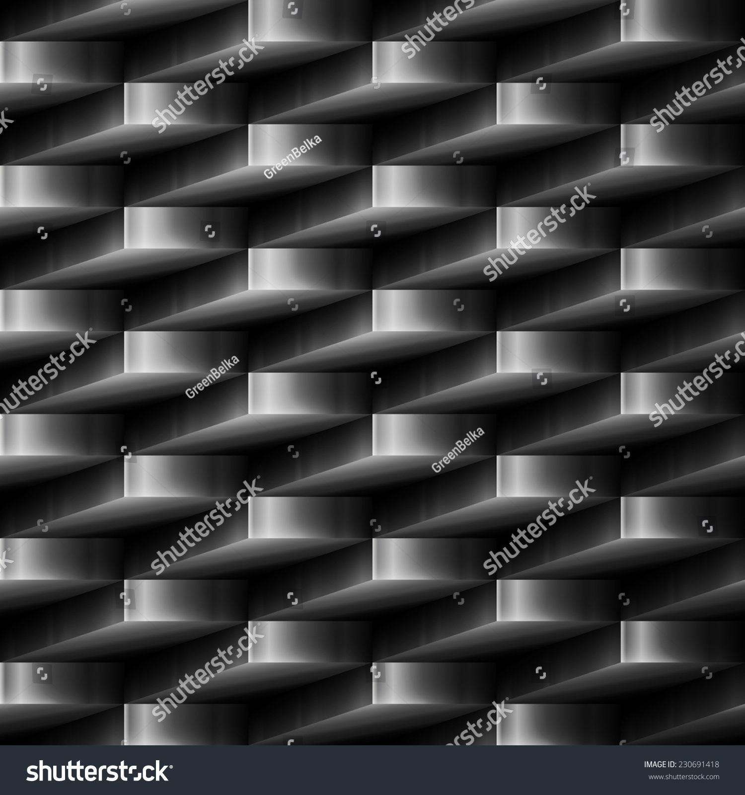 Marvelous Vector Design Element. Metal Abstract Seamless Background