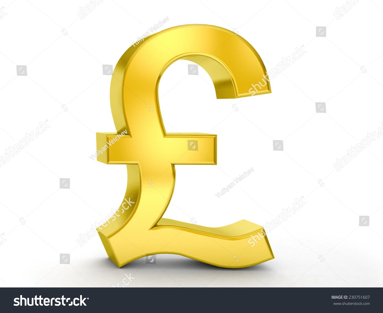 Pounds symbol currency choice image symbol and sign ideas gold pound symbol on white background stock illustration 230751607 gold pound symbol on a white background buycottarizona