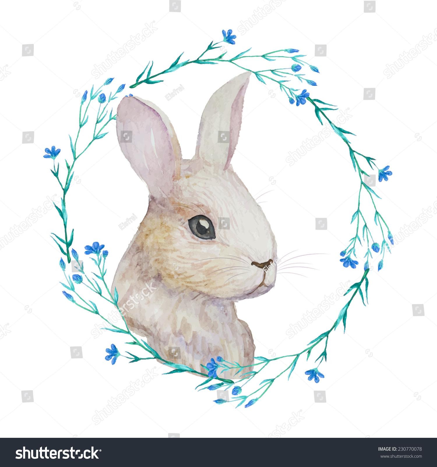 Realistic rabbit illustration - photo#12