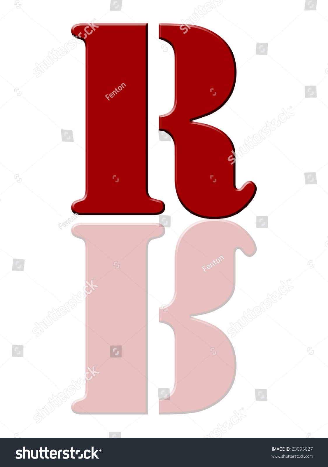 letter a photography wax font letter r stock photo 23095027 16410 | stock photo wax font letter r 23095027