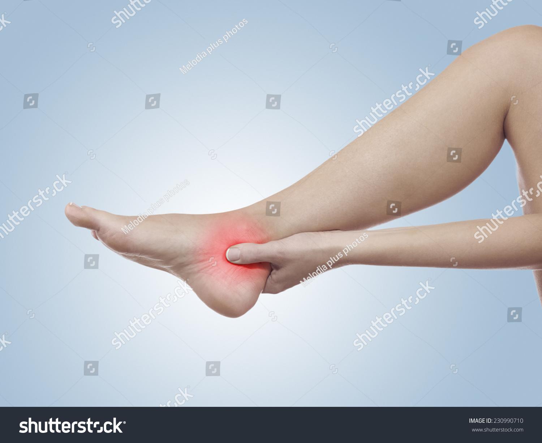 Human Ankle Pain Anatomy Injury Caused Stock Photo Edit Now