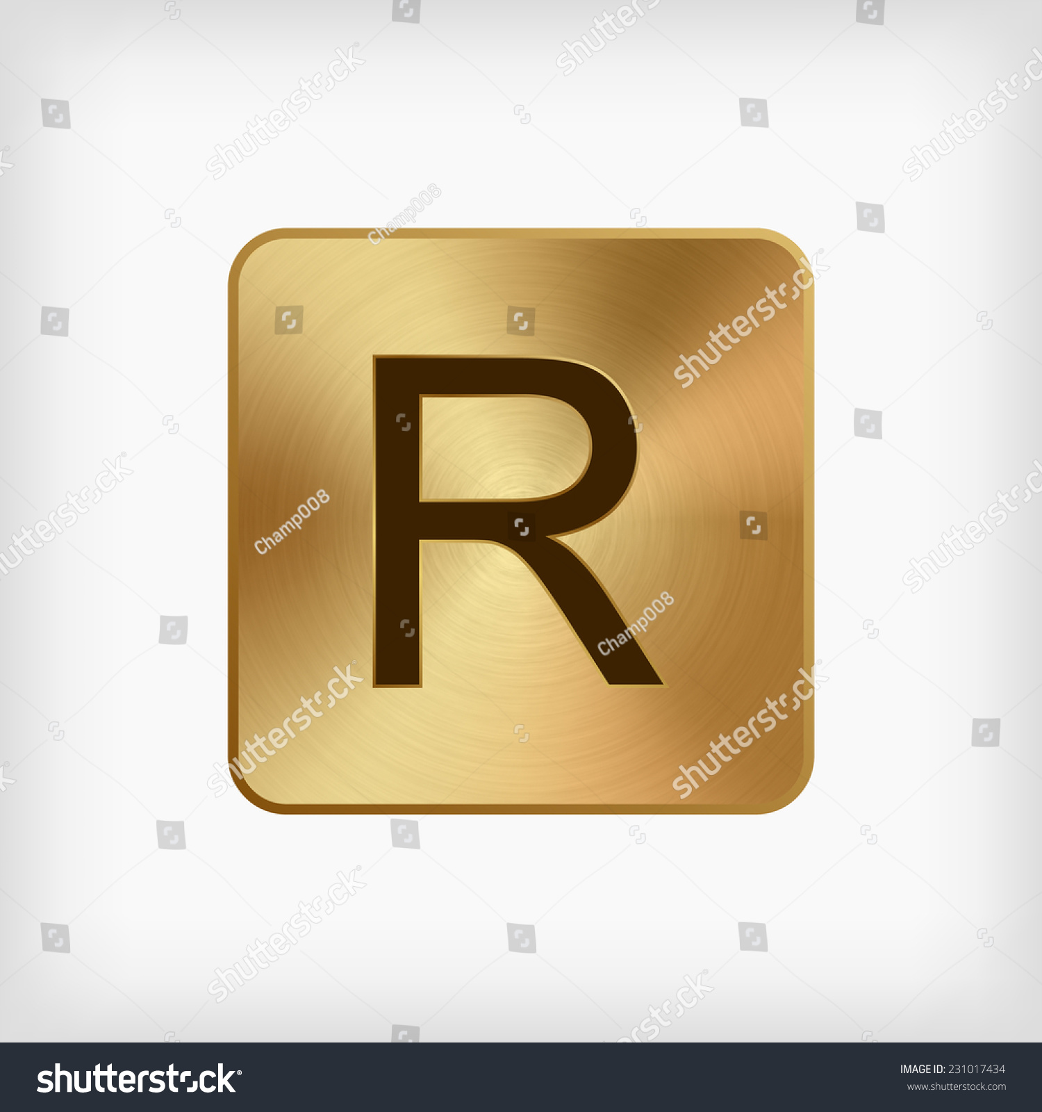 Isolated modern english alphabet r letter stock vector 231017434 isolated modern english alphabet r letter in gold icon on white background vector buycottarizona
