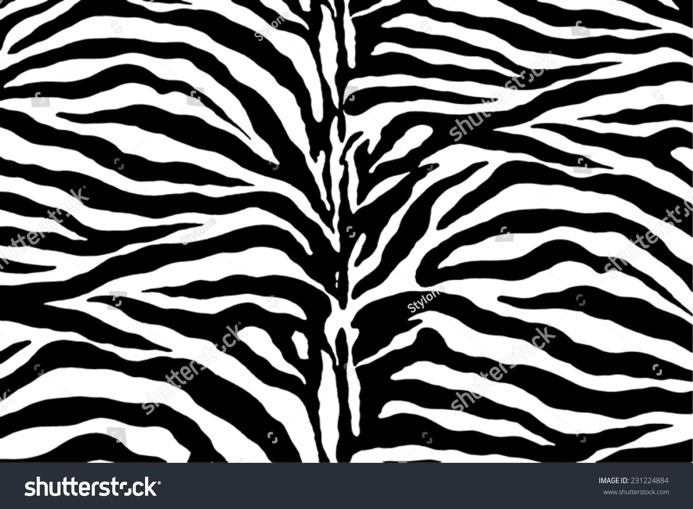Zebra pattern vector - photo#10