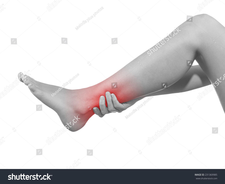 Human Ankle Pain Anatomy Injury Caused Stock Photo (Edit Now ...