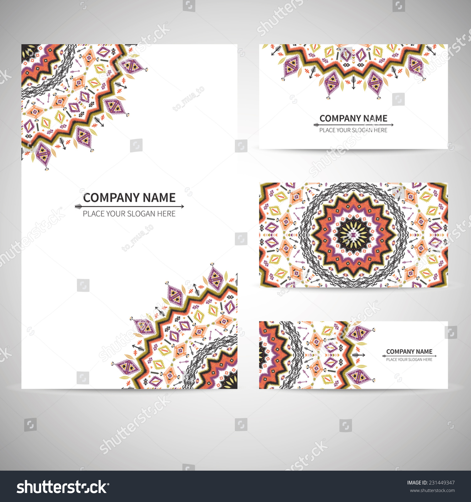 business card native background stock vector shutterstock