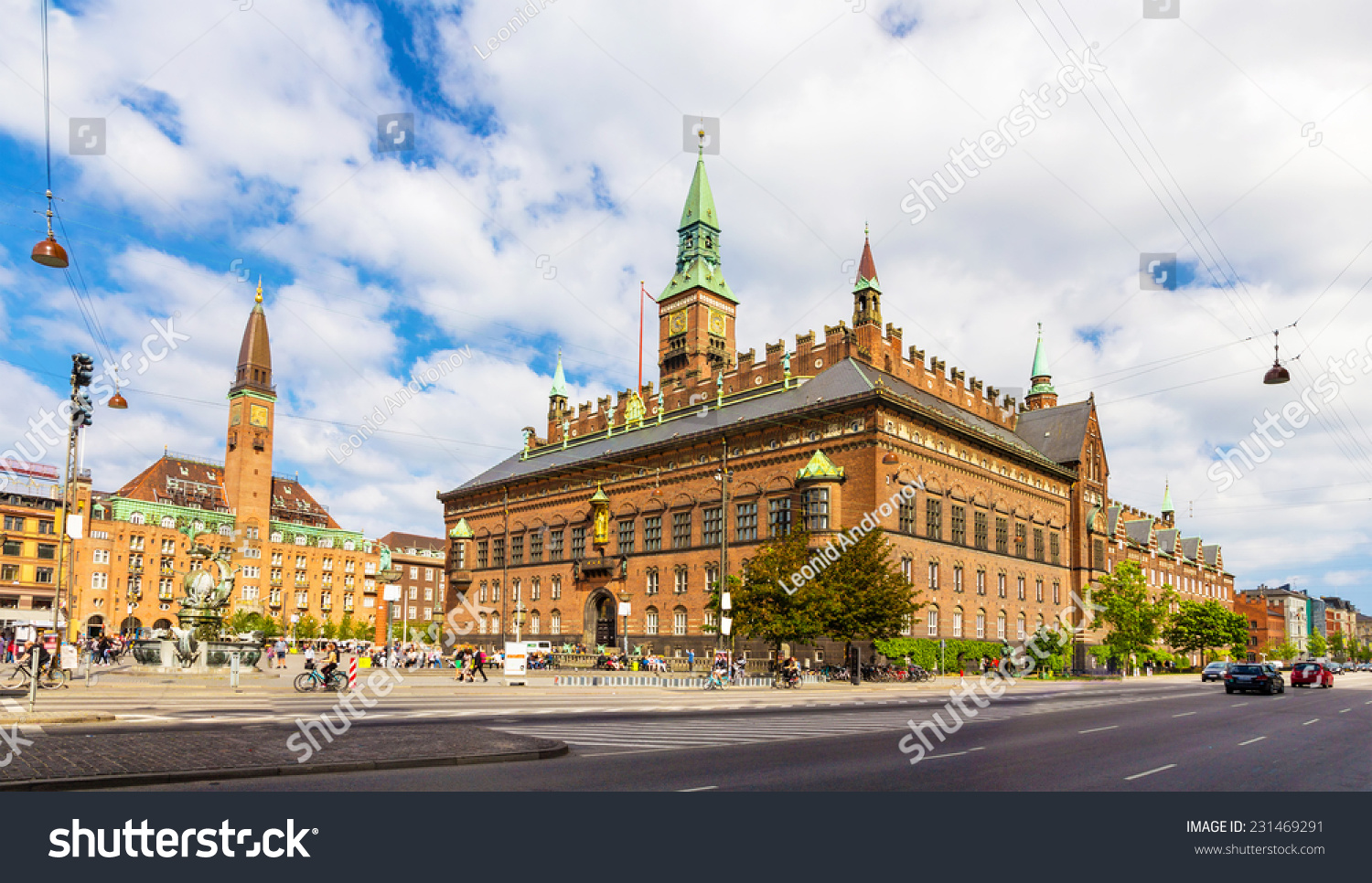 How To Figure Out Square Footage Of A House View Copenhagen City Hall Denmark Stock Photo 231469291