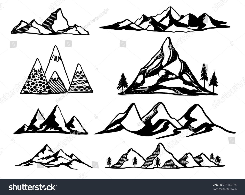 free vector clipart mountain - photo #47
