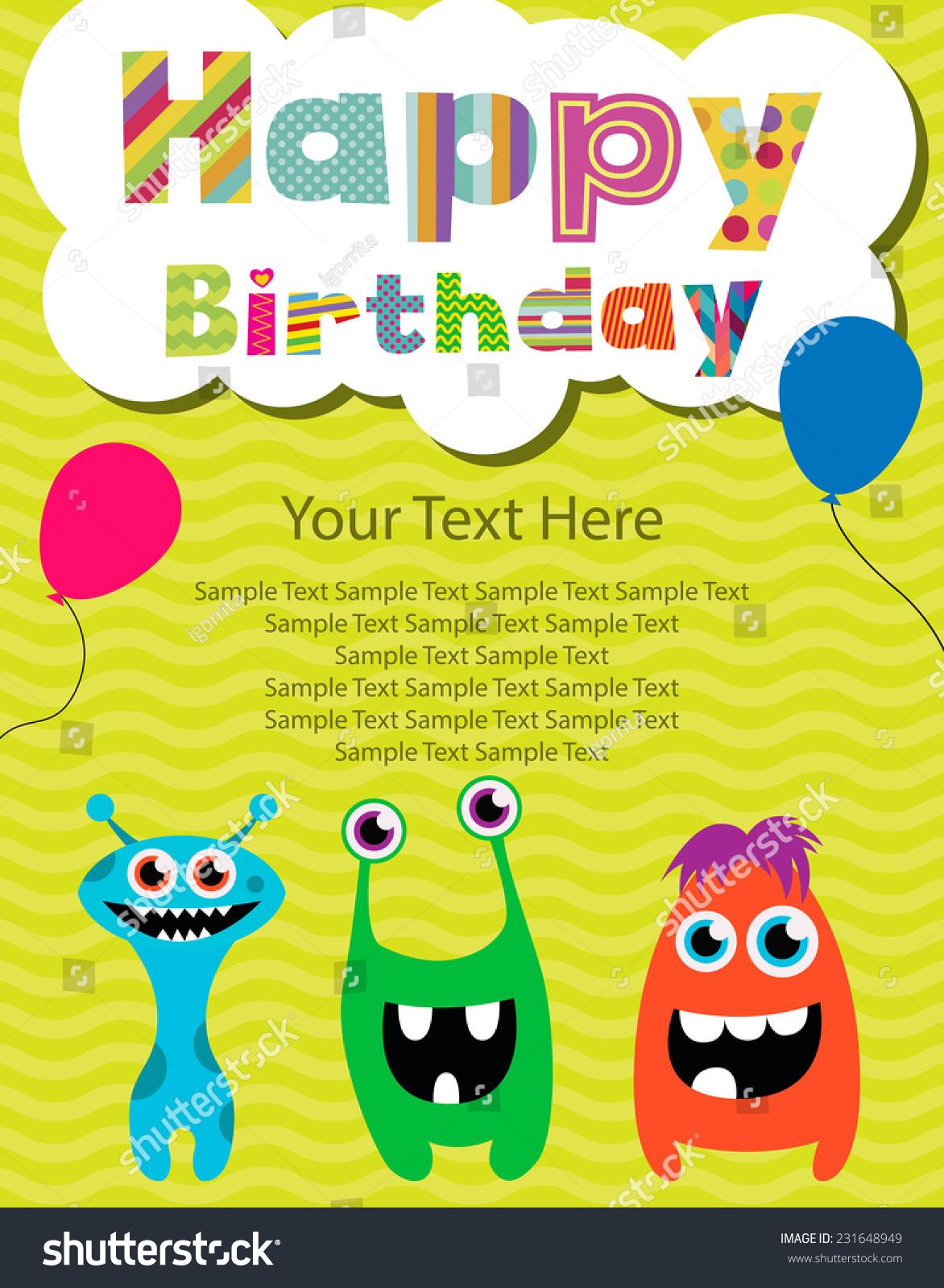 Happy Birthday Invitation Gangcraft Net