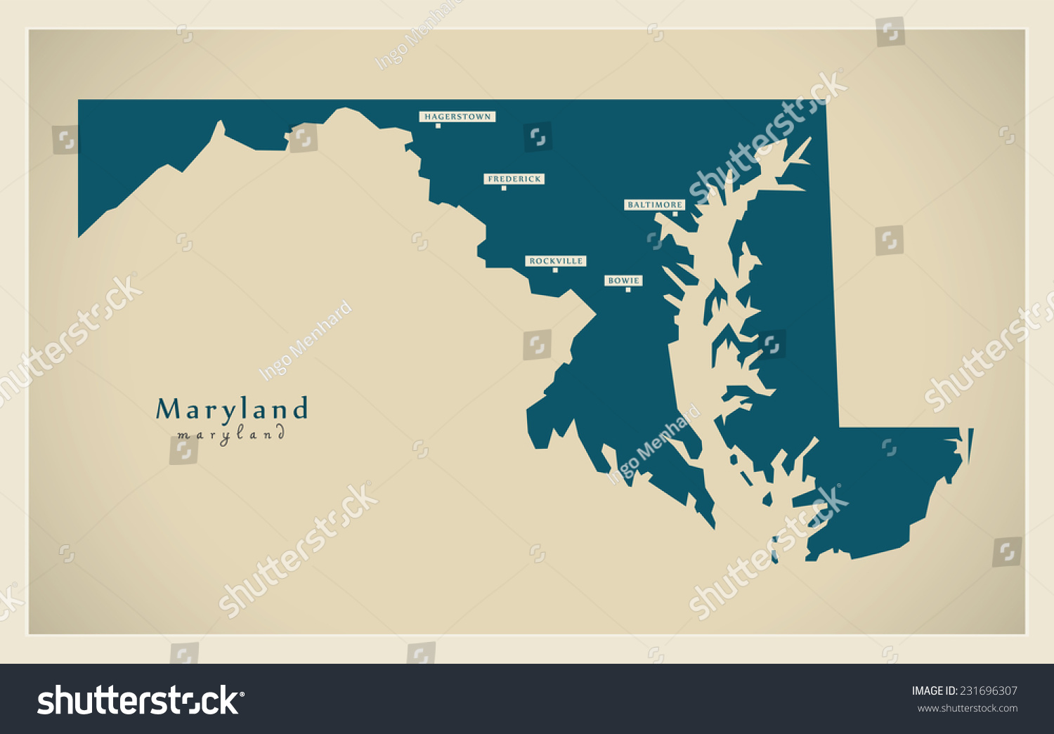 Maryland State Maps USA Maps Of Maryland MD Maryland Map Usa Maps - Savannah on us map
